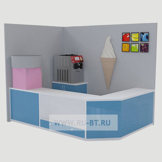 фризер для мороженого на стойке